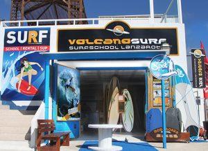 Volcano surf school