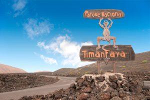 national park timanfaya, lanzarote